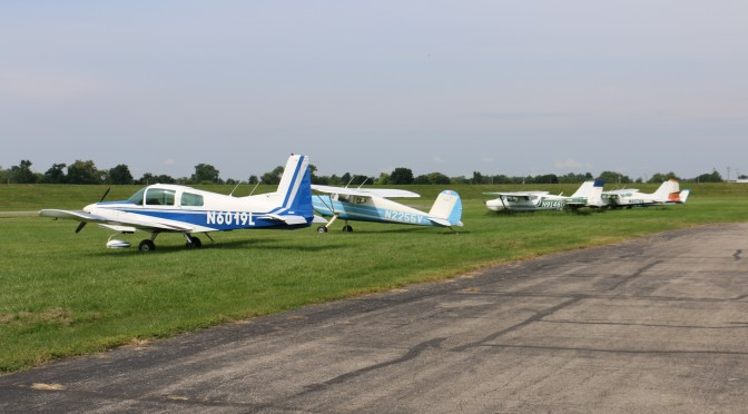 EAA fly in Moraine airpark
