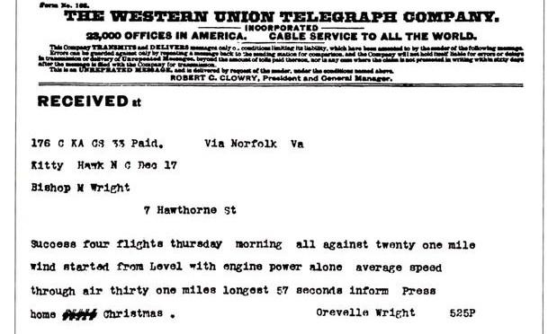 December in Aviation History