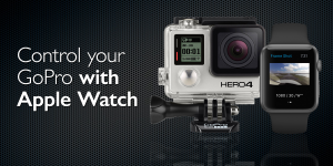 Control your GoPro camera with an Apple Watch