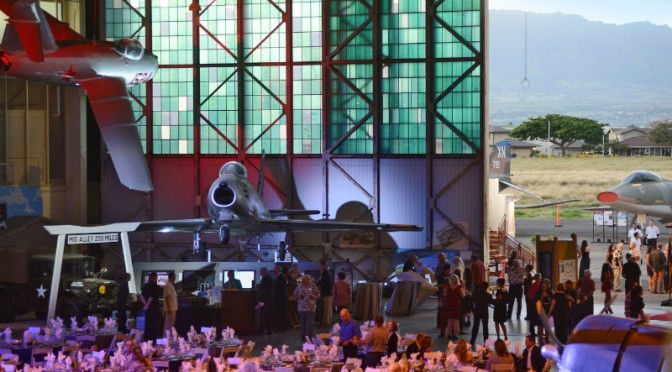 Pearl Harbor survivors join Triple Ace Bud Anderson at Pacific Aviation Museum gala