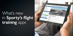 What's new in Sporty's flight training apps
