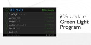New iOS Update Green Light program