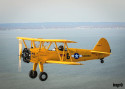 Pictures of the day: A Stearman in flight
