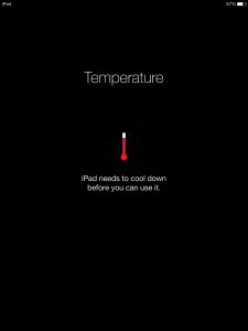 Don't let your iPad overheat – and crash