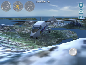 Fun iPad flying: bush pilot simulator