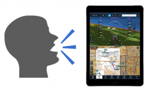 Is voice recognition the next big thing for aviation iPad apps?