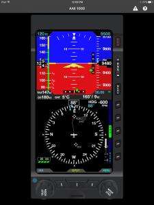New app emulates Aspen Avionics flight displays