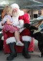 Now arriving: Santa