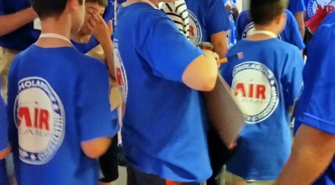 Air Camp Students Visit Parachute Museum