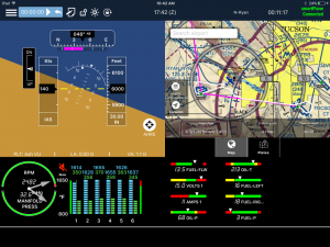 New smartPlane system converts your iPad into a panel-mount MFD