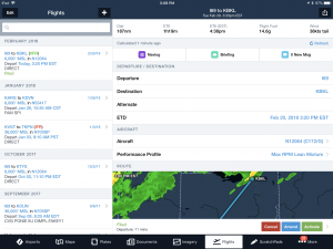 How to file, open and close a VFR Flight Plan from your iPad