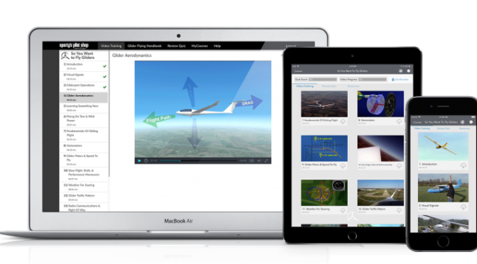 New aircraft transition courses available in Sporty's Pilot Training app