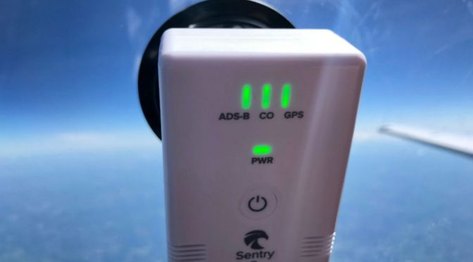 ForeFlight Sentry combines ADS-B receiver and CO detector
