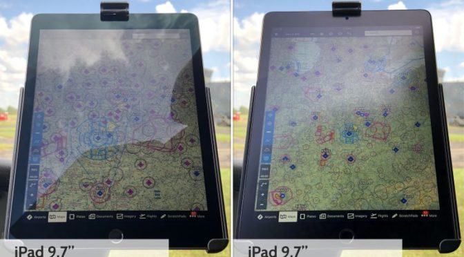iPad screen protectors – which one is best for pilots?