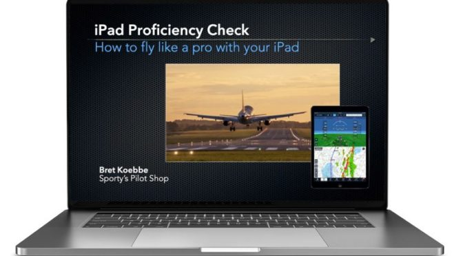 New iPad Proficiency Check webinar tomorrow