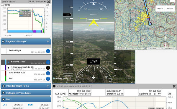 Using Stratus to record and play back flights