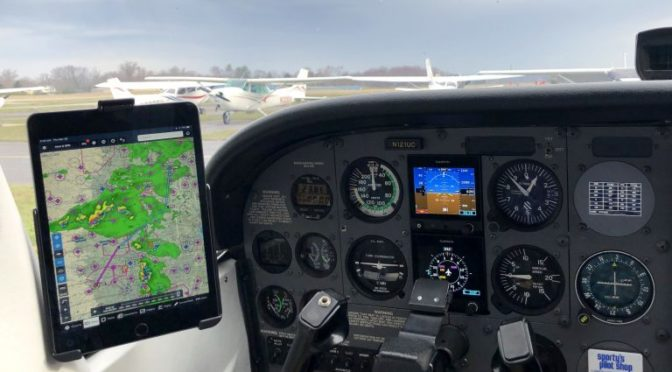 First impressions after flying with the new iPad Mini