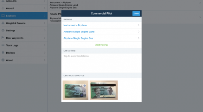 How to customize your ForeFlight logbook