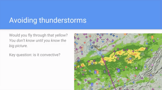 Video tip: avoiding thunderstorms with datalink weather
