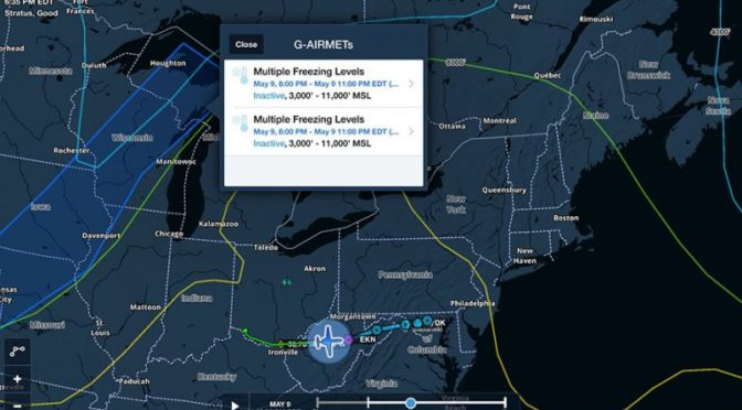 ADS-B weather adds new product, faster radar updates