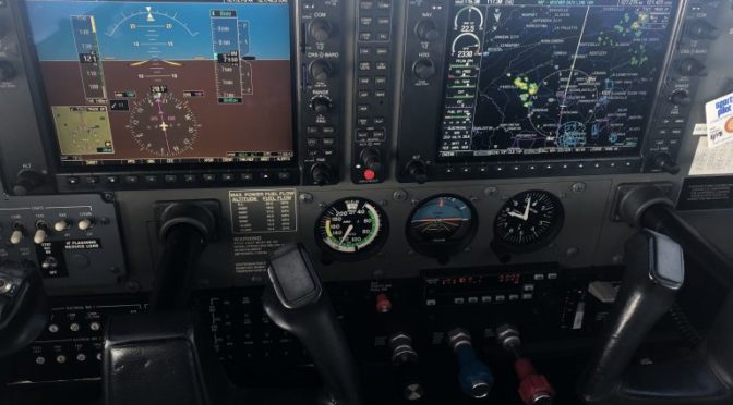 Flying with the Garmin G1000, Connext and your iPad