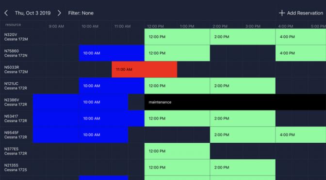 Flight Schedule Pro releases all new app for flight schools